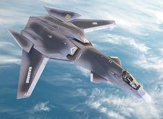 """F/A-37 Talon (fictional from the movie """"Stelth"""")"""