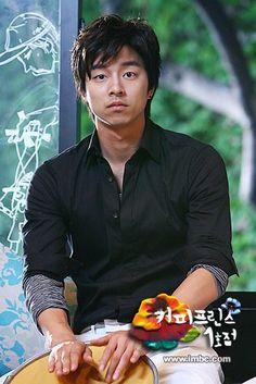 Gong Yoo as Choi Han Kyul in Coffee Prince