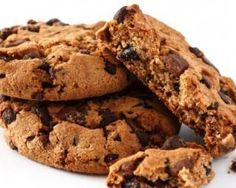 Cookies au chocolat Weight Watchers : 2 PP par biscuit - Fourchette & Bikini Dessert Ww, Ww Desserts, Ww Recipes, Sweet Recipes, Cake Recipes, Cookies Light, Weigth Watchers, Go For It, Healthy Cookies