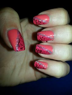 Bold, bright and sparkly!