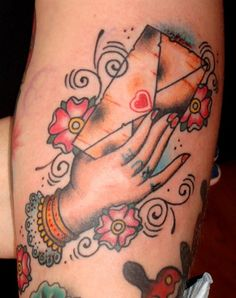 envelope tattoo - Google Search