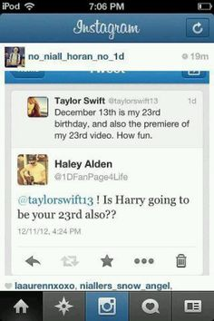I love Taylor and I love Harry but this is too funny