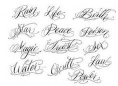 Tattoo Script Font Generator Free