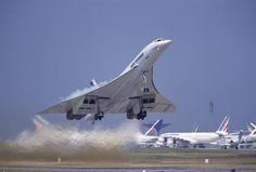 Concorde away