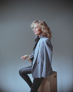 lauren hutton. icon. (via Ioulex Reporting from Fashion Week « The Leica Camera)