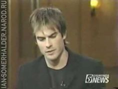 Ian Somerhalder at Live with Regis and Kelly 07/04/2005