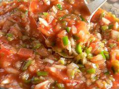 お手軽サルサソースの画像 Salsa, Mexican, Ethnic Recipes, Foods, Food Food, Gravy, Salsa Music, Dip