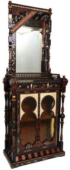CARLO BUGATTI cabinet, c. 1900, available for $85,000