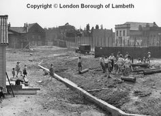 Lollard Adventure Playground, Wake Street, Lambeth the site South London, New South, Growing Vegetables, Railroad Tracks, Nostalgia, Bonfires, Camping, Community, Playgrounds