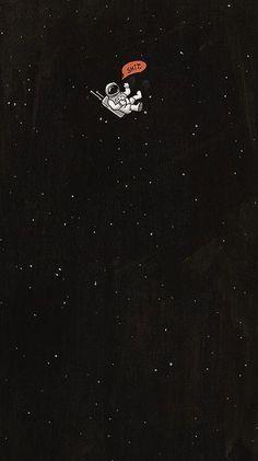 Astronaut Vacuuming Stars Desktop Wallpaper Wallpapershit