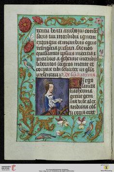 Cod. Sal. IXf  Horarium  Flandern, um 1500  Codices Salemitani - digital Zitierlink: http://digi.ub.uni-heidelberg.de/diglit/salIXf i  URN: urn:nbn:de:bsz:16-diglit-238386 i  Metadaten: METS