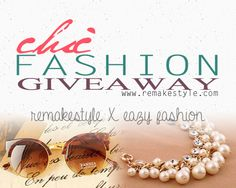 Join Chic Fashion Giveaway and win stylish accessories at www. Giveaways, Bangle, Join, My Love, Reading, Stylish, Random, Awesome, Books