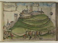 Artist: Unknown, Title: Bamberger Burgenbuch, Date: 1527, Page: 4