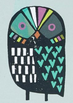 print & pattern blog: AW15 PREVIEW - paperchase : owl crowd