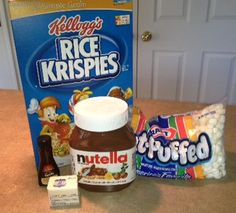 ShhhopSecret: Nutella Rice Krispies Recipe