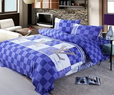 Monis Bows N More - Louis Vuitton Duvet Set (3 Different Styles), $89.99 (http://www.monisbowsnmore.com/louis-vuitton-duvet-set-3-different-styles/)