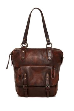 Frye - Veronia Leather Shoulder Bag is now 50% off. Free Shipping on orders over $100.