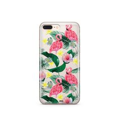 'Hibiscus Paradise' - Clear TPU Case Cover
