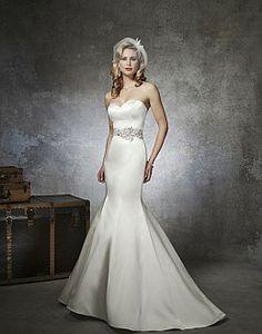 [Fish Tail Wedding Dress]
