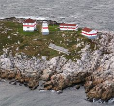 Located on the eastern end of Puffin Island approximately which is just off Greenspond on the northwest side of Bonavista Bay. Newfoundland Canada, Newfoundland And Labrador, Old Buildings, Abandoned Buildings, Beacon Of Hope, Quebec City, Island Lighting, Banff, Nova Scotia