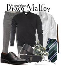 """Draco Malfoy"" by lalakay on Polyvore @Savannah Andrews"