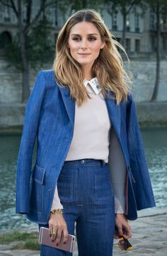 What an amazing way to end Fashion Month - @OliviaPalermo was spotted in our jumper with decorated collar and sunglasses at Paris Fashion Week. Très chic!  #maxandco #fashion #style #jumper #sweater #pfw #paris #parisfashionweek #oliviapalermo #trèschic #chic #mood #sundayfunday #fashionmonth #instagood #instalike