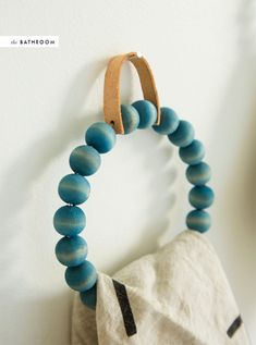 DIY room to room: wood beads