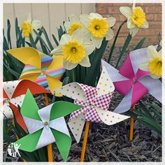 Looking for a fun, kid-friendly summer craft? Find our step by step instructions for DIY pinwheels.