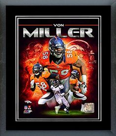 Von Miller Framed With double black matting Ready To Hang- Awesome & Beautiful-Must For A Championship Team Fan! All Teams Players Available-Please Go Through Description & Mention In Gift Message If Need A different Team-Choose Size Option! (16 x 20 inches Von Miller framed print) Art and More, Davenport, IA http://www.amazon.com/dp/B00NMO89A4/ref=cm_sw_r_pi_dp_X3Nrub0P6N5KB