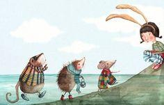 eLBaúL que no tenía mi aBueLa: Holly Clifton-Brown Children's Book Illustration, Digital Illustration, Hedgehog Art, Cute Monsters, Freelance Illustrator, Cool Paintings, Whimsical Art, Character Design, Drawings