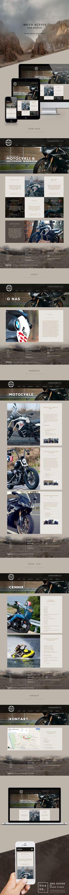 Moto Active Web Design