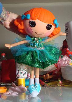 Lalaloopsy Gem Sea Fairy Dress by PeppermintPiglets on Etsy, $12.50