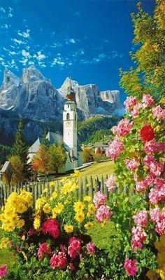 Alto Adige, Sudtirol - Colfosco !