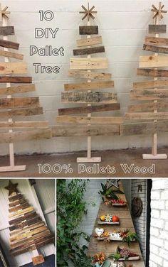 20 Brilliant DIY Pallet Furniture Design Ideas to Inspire You - diy pallet creations Wooden Pallet Projects, Wooden Pallet Furniture, Pallet Crafts, Wooden Pallets, Wood Crafts, Diy Projects, Pallet Ideas, Woodworking Projects, Pallet Designs