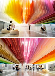100 Colors Installation in Tokyo