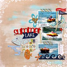 GORGEOUS summer themed layout