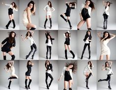 Fashion photography poses