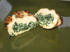 Grilled Spinach and Ricotta Stuffed Chicken
