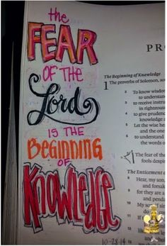 Not Just Any Bee - Doodle Art: The Fear of The Lord