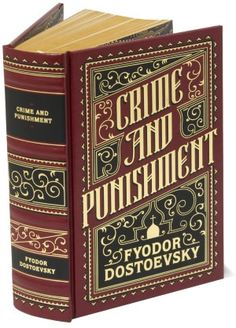 Crime and Punishment (Barnes & Noble Leatherbound Classics) I think we read this in English in Senior year at high school. I Love Books, Good Books, Books To Read, My Books, Reading Books, Library Books, Classic Literature, Classic Books, Ap Literature