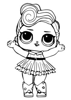 Colring Pages For Kids Lol Doll Luxe Coloring Page Free Printable Coloring Pages Rainbow Coloring Pages Nature Coloring Pages Cute Printable Baby Unicorn Coloring Pages Kids Kids Printable Coloring Pages, Easy Coloring Pages, Cat Coloring Page, Coloring Pages For Girls, Animal Coloring Pages, Coloring For Kids, Coloring Books, Coloring Worksheets, Mermaid Coloring Pages