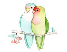 Love birds by {JooJoo}, via Flickr