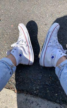 Cute Converse, Converse Sneakers, Converse All Star, Converse Chuck Taylor High, Converse High, High Top Sneakers, Chuck Taylors High Top, High Tops, Dior
