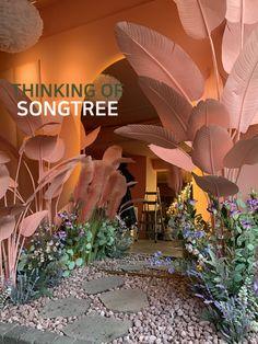 Cafe Interior Design, Best Interior, Exterior Design, Interior And Exterior, Modern Japanese Interior, Garden Coffee, Coffee Shop Design, Spa Design, Pine Tree