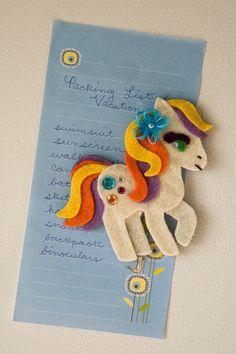 My Little Pony Felt Magnet