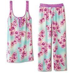 Floral Garden Pajama Set