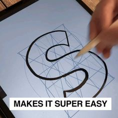 Ipad Discover Drawing Letters made Easy! With LetterBuilder brushes you can create letters quickly and easy. For Procreate Photoshop & Affinity Designer. Digital Painting Tutorials, Digital Art Tutorial, Concept Art Tutorial, Drawing Letters, How To Draw Letters, Digital Art Beginner, Lettering Design, Hand Drawn Lettering, Types Of Lettering