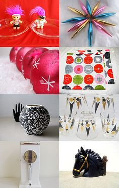 Christmas in color or in black and white--Pinned with TreasuryPin.com