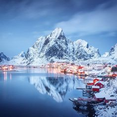 """""""Chilling out in #Reine village, up in northern Norway's #Lofoten islands. #SundaySerenity #LiveMarley #wanderlust : @danielkordan"""""""