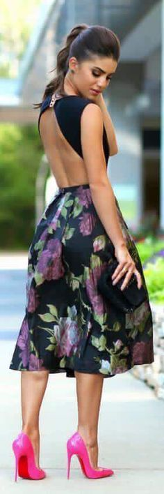 OutFit Ideas - Women look, Fashion and Style Ideas and Inspiration, Dress and Skirt Look Fashion Blogger Style, Pretty Dresses, Beautiful Dresses, Gorgeous Dress, Beautiful Clothes, First Date Outfits, Fashion Beauty, Womens Fashion, Fashion Fashion